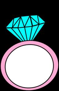 192x298 Diamond Ring Maddie Clip Art