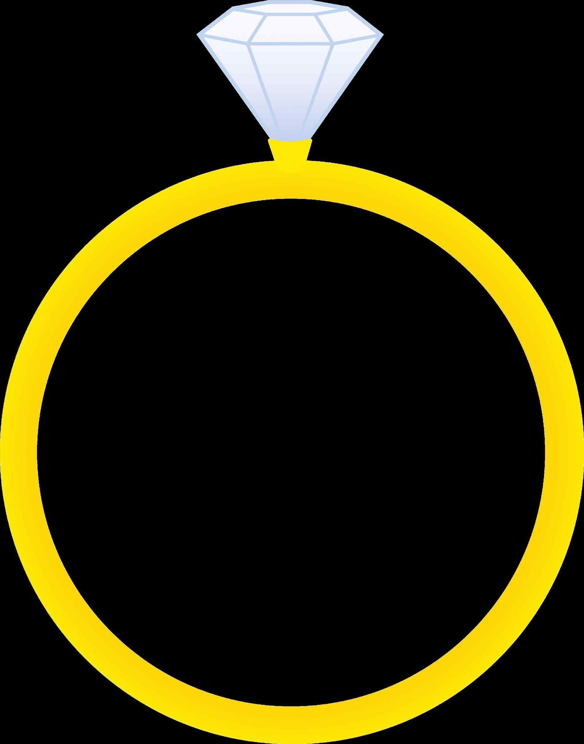 1900x2422 Panda Rhpandacom Engagement Diamond Ring Clipart Black