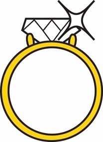 207x285 Diamond Ring Clip Art New Diamond Ring Clipart No Background