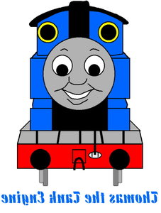 227x300 Thomas Tank Engine Clip Art