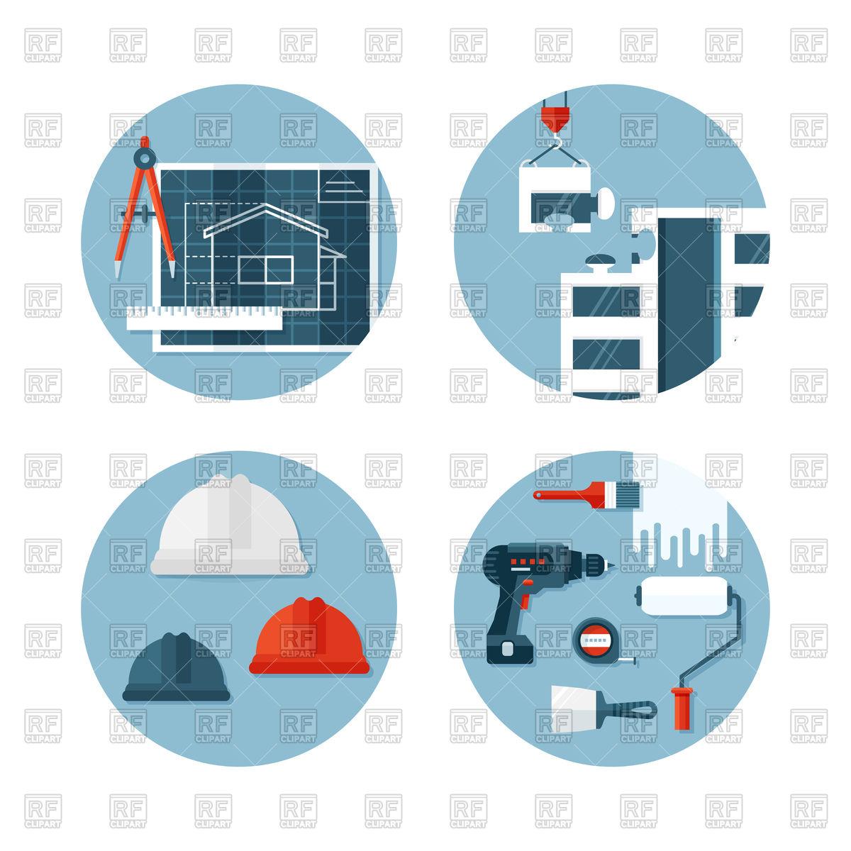1200x1200 Tools, Ecuipment, Engineering Icons Royalty Free