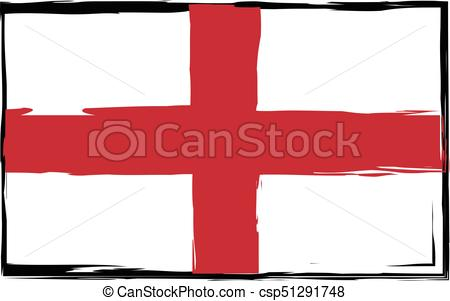 450x301 Grunge England Flag Or Banner Vector Illustration Eps Vector