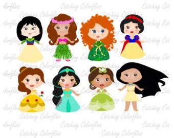 340x270 Princess Clip Art, Fairytale Princess Clipart, Little Princess