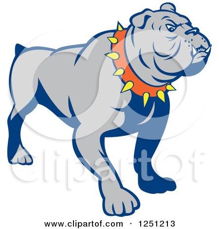 450x470 Royalty Free (Rf) Clipart Of Bulldogs, Illustrations, Vector