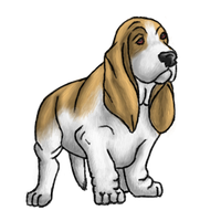 200x200 Basset Hound Thanksgiving Clip Art Happy Easter Amp Thanksgiving 2018