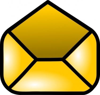 425x403 Free Download Of Open Envelope Clip Art Vector Graphic