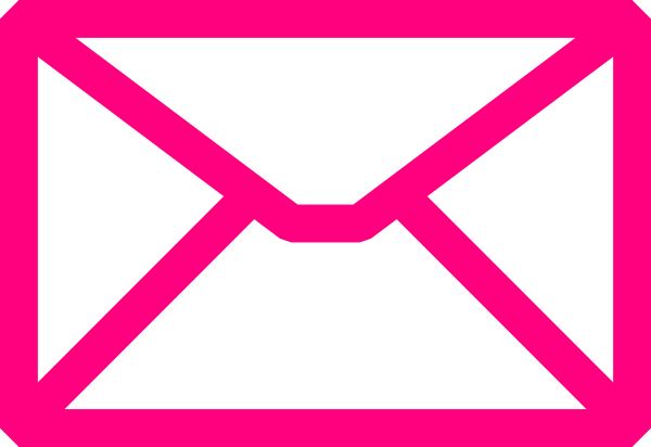 600x412 Pink Envelope Clip Art