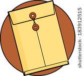 167x150 Yellow Envelope Clipart