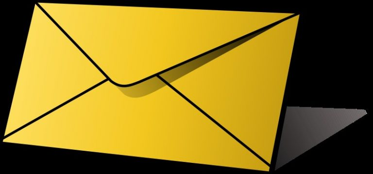 768x359 Letter And Envelope Clipart How To Format Cover