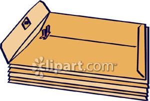 300x203 Clip Art Manila Envelopes Clipart