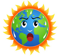 210x189 Global Warming Clipart