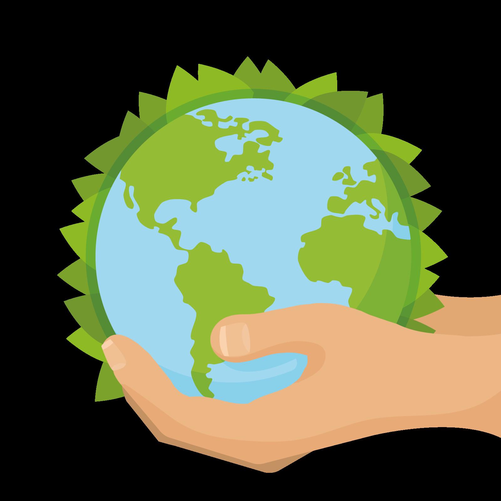 1600x1600 Green World Environment Day Euclidean Vector Clip Art
