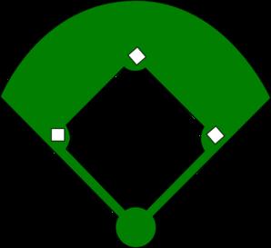 298x273 Epic Baseball Field Clip Art