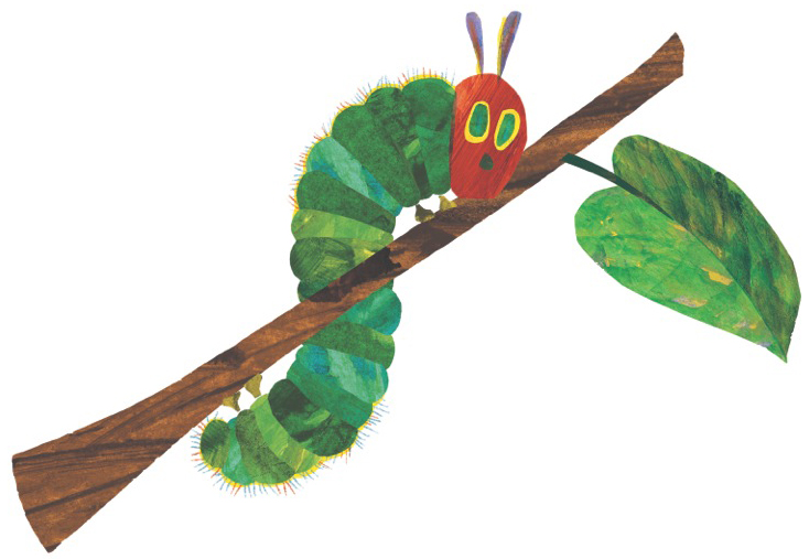 734x507 Eric Carle Blog Happy Very Hungry Caterpillar Day! March 20th 2017