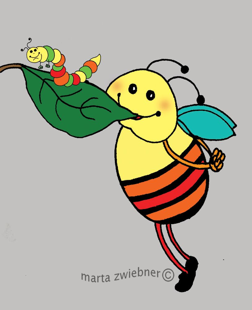 814x1000 Marta Zwiebner Clip Art For Paint Clip Art And Bees