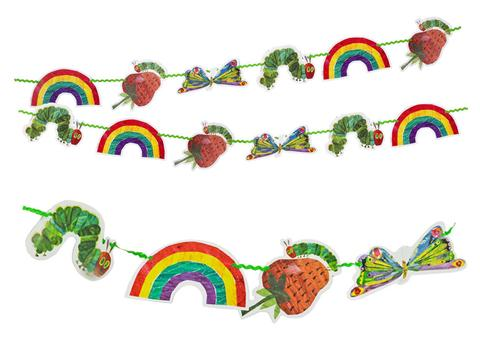 480x360 Eric Carle's The Very Hungry Caterpillar Garland My Little Party
