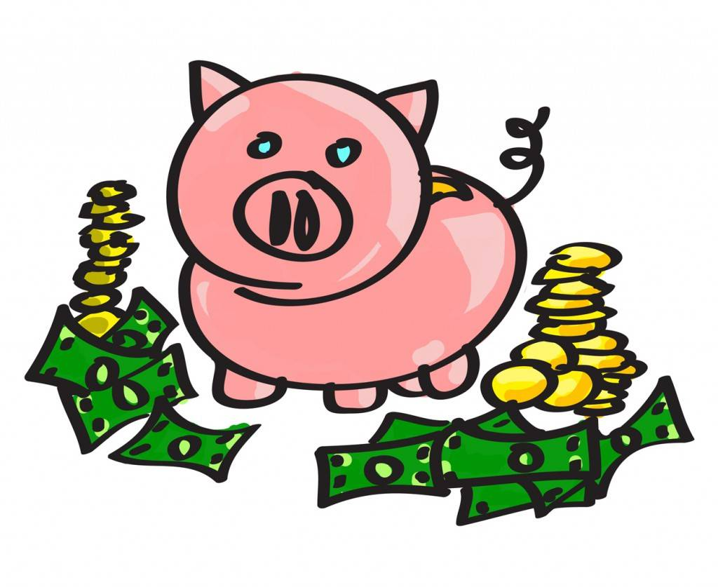 1024x837 Piggy Bank Clip Art 0 3