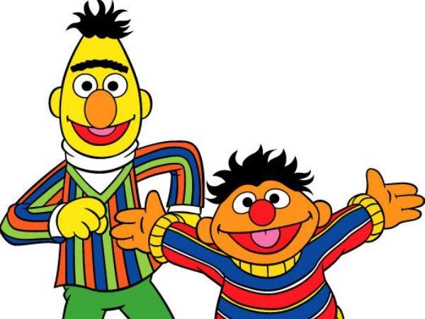 600x450 Sesame Street Ernie Clip Art