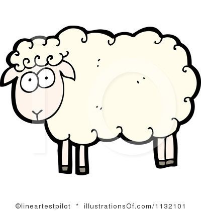 400x420 Sheep clipart