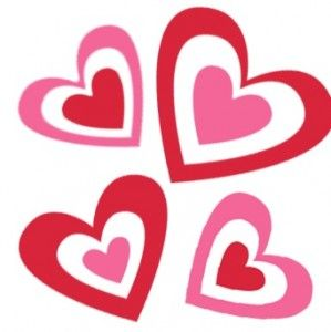 299x300 Valentine Clip Art Valentine's Day Heart Clipart Newsletter