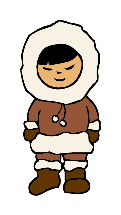 420x747 Collection Of Inuit Clipart High Quality, Free Cliparts