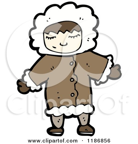 450x470 Cartoon Of A Child Eskimo
