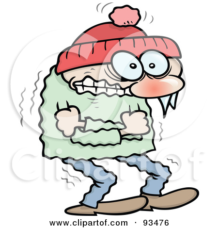 450x470 Freezing Cold Person Clipart