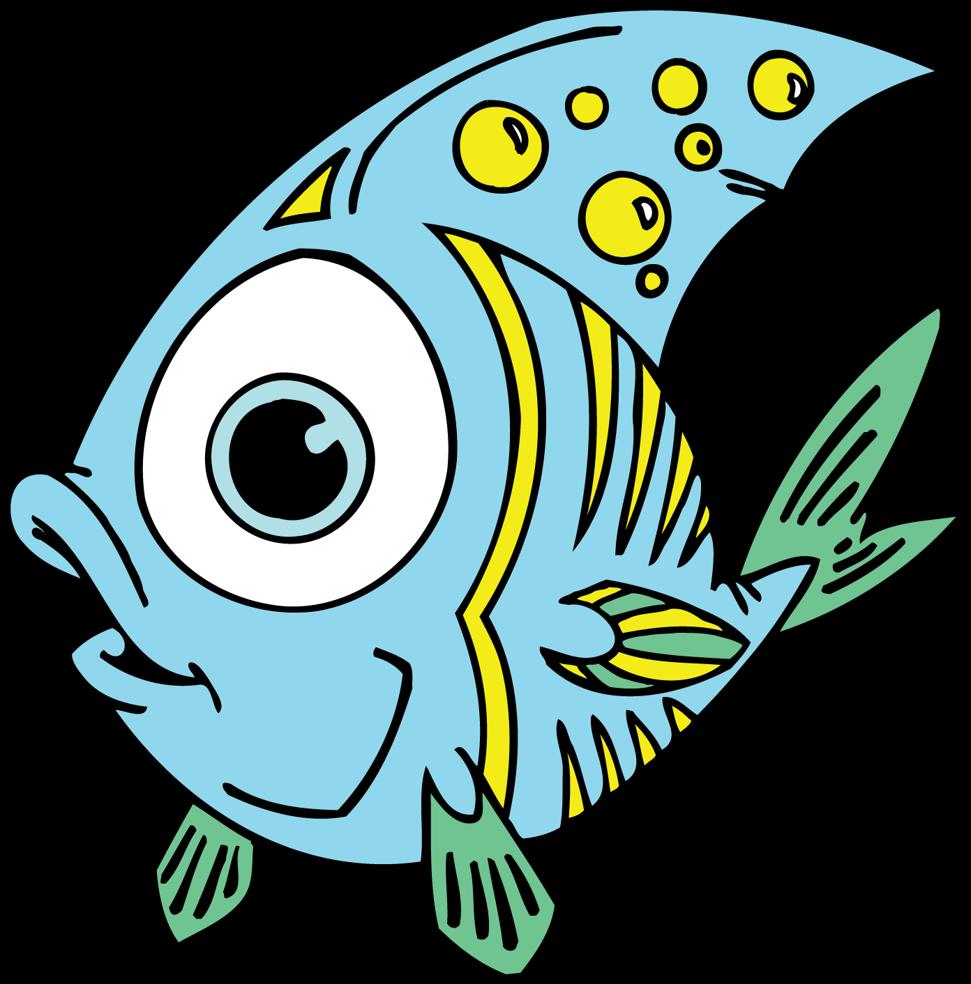 971x984 Exploit Fish Clip Art For Kids Esl Pets Animals Vocabulary Clipart