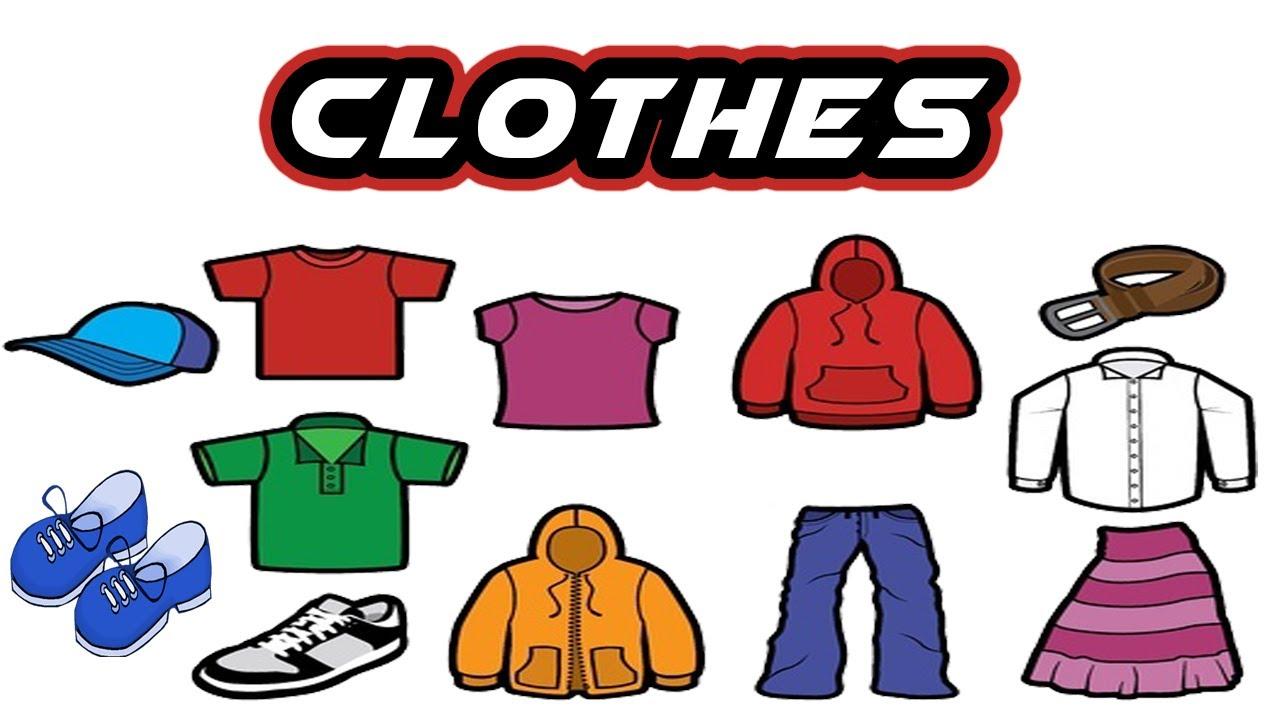 1280x720 Clothes Vocabulary Esl Clothes English Vocabulary Toddler