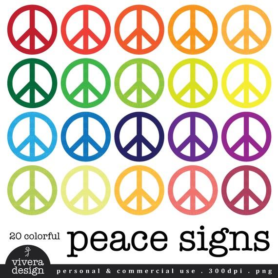 570x570 Peace Sign Border Clip Art Hippies Clipart Esl 3