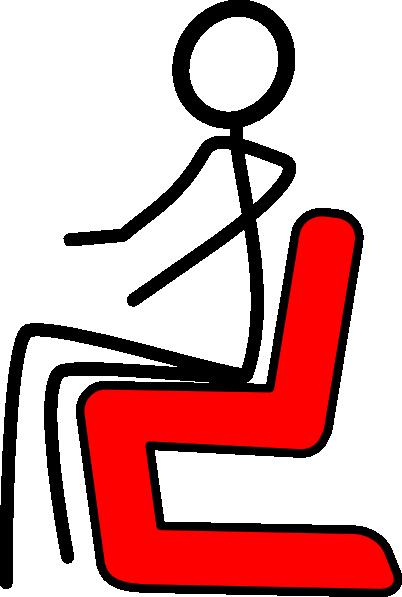 402x597 Chair Red Clip Art