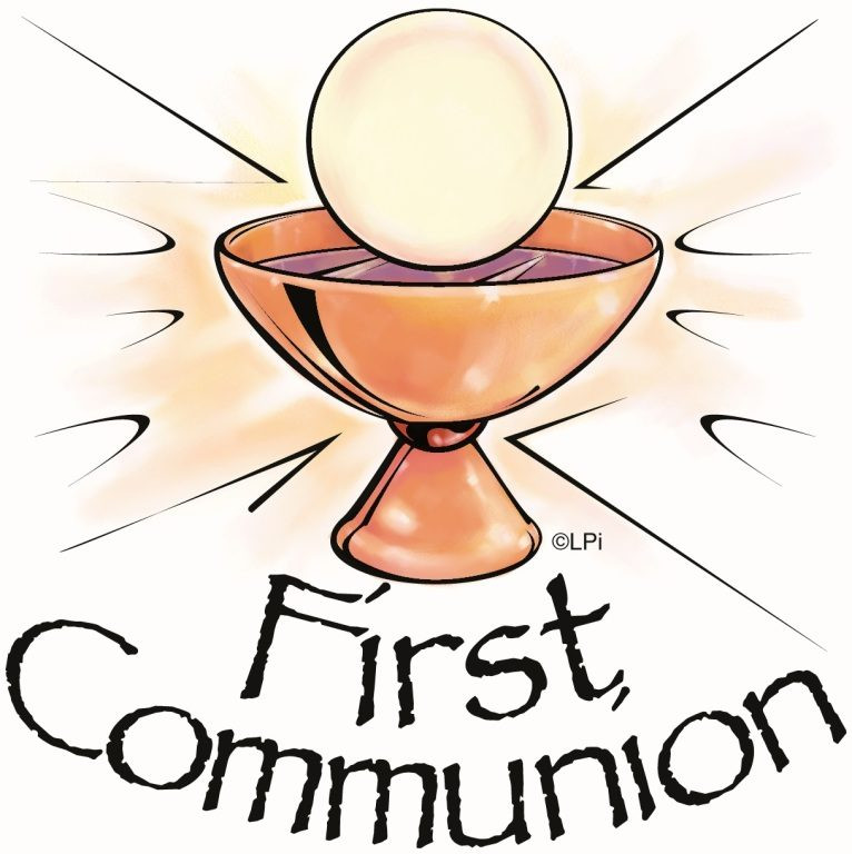 766x768 Free Cliprt 1st Communion First Munion Chalicend Hostnd