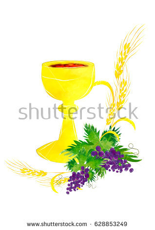 318x470 Grapes Clipart Eucharist