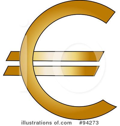 400x420 Euro Symbol Clipart