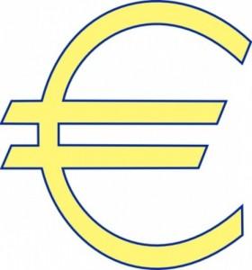 280x300 Money Euro Simple Clip Art Clipart Panda