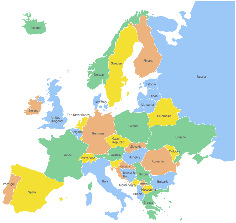 802x758 Map Of Europe Clip Art How To Draw Europe With Countries