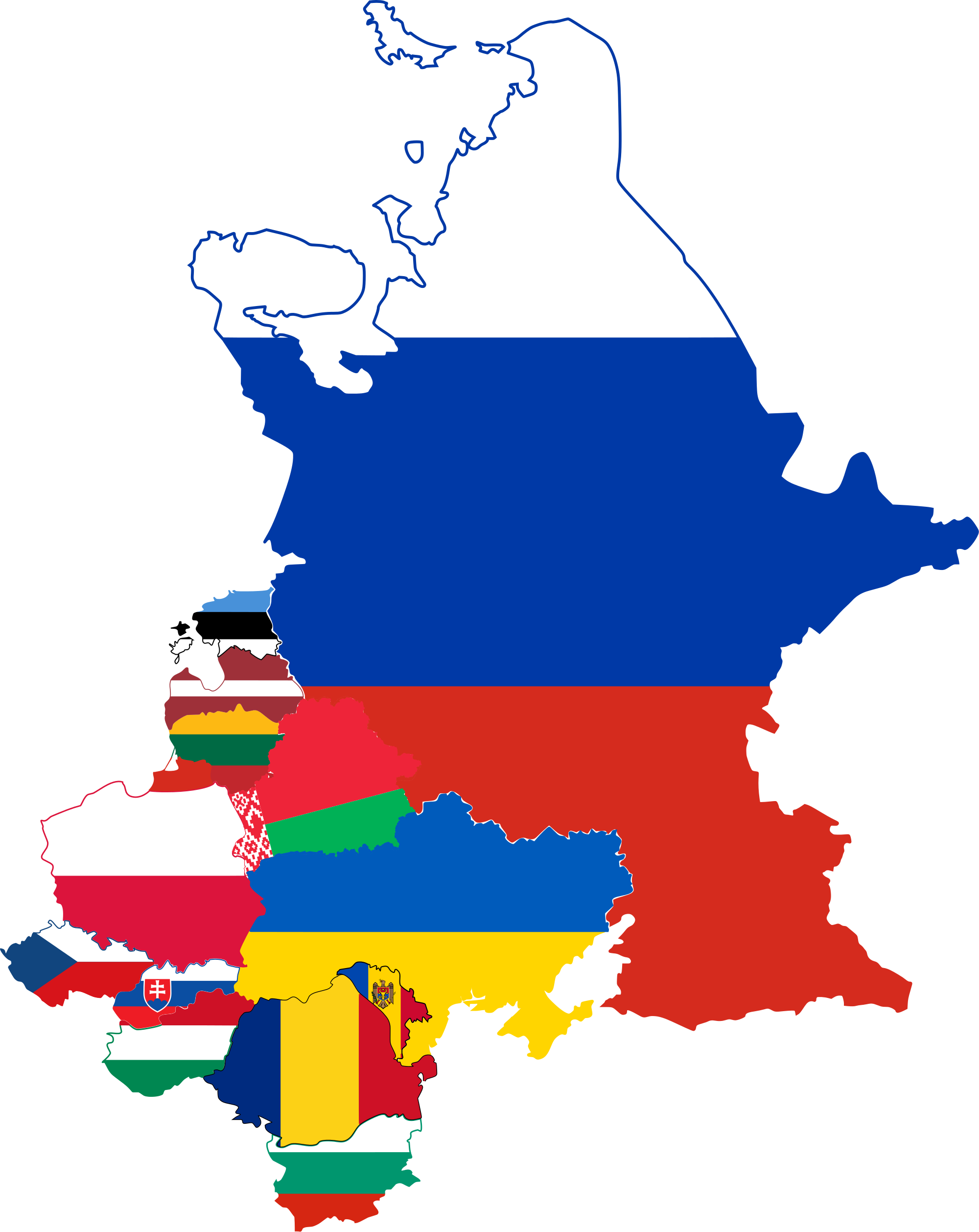Europe Map Clipart