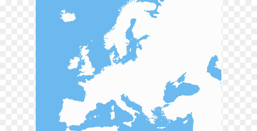 900x460 Europe Blank Map Clip Art