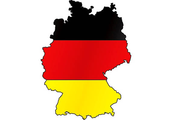 570x399 Germany German Europe Country World National Nation Flag Map