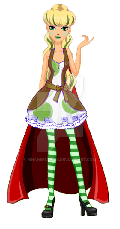 400x766 Ever After High Oc Pea Green Bio By Mhanimechick