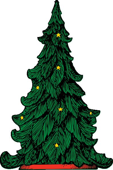 396x597 Clip Art Xmas Tree Medium Clipart