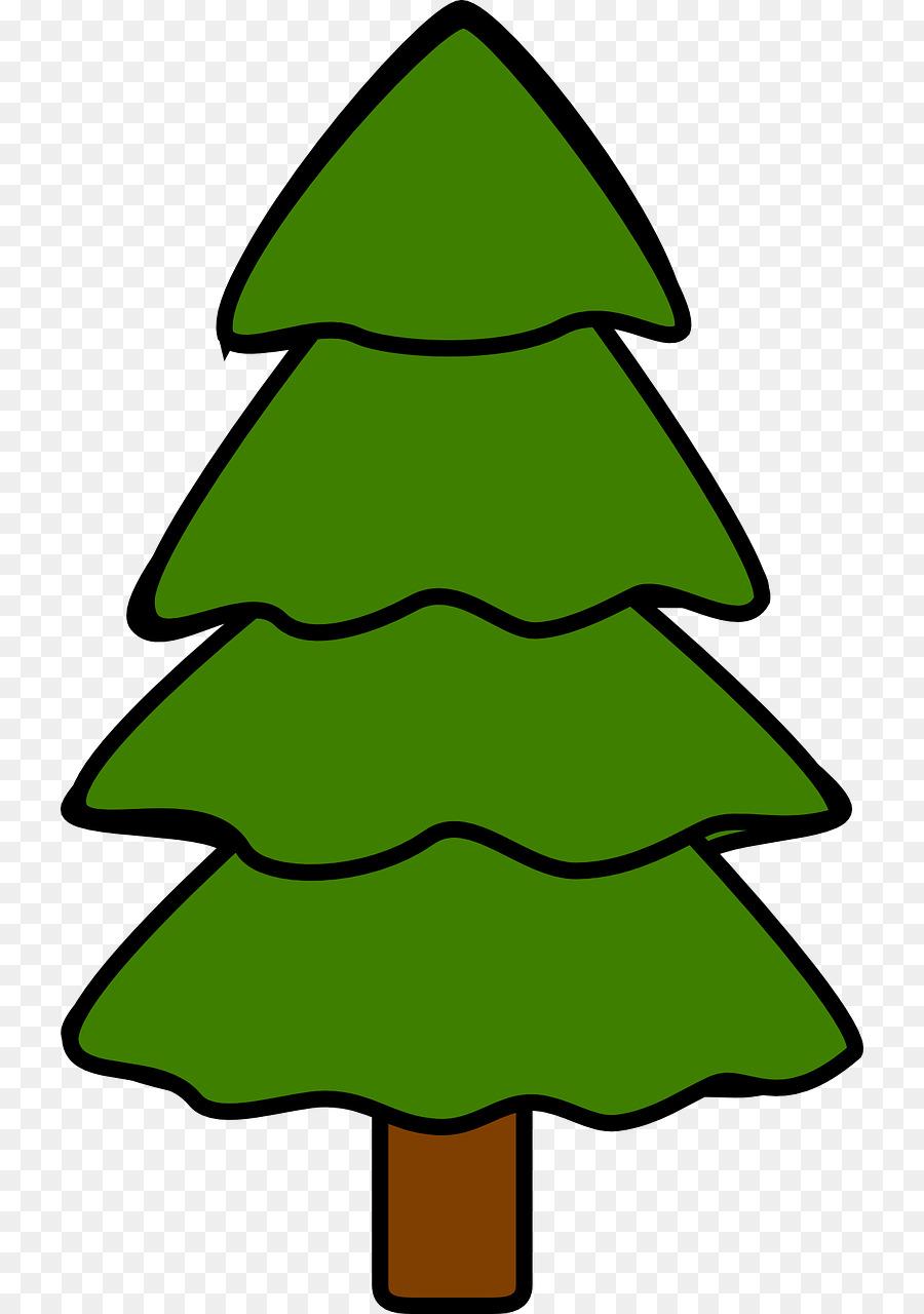 900x1280 Douglas Fir Pine Tree Clip Art