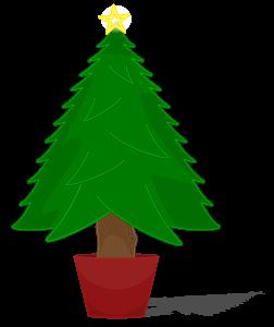 252x300 Christmas Tree Clipart Tiny