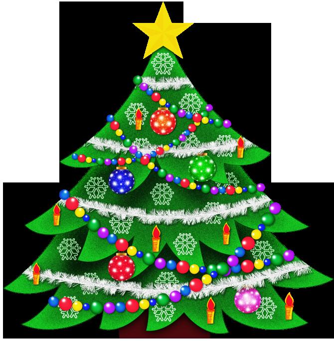 670x684 Christmas Tree Clipart 2