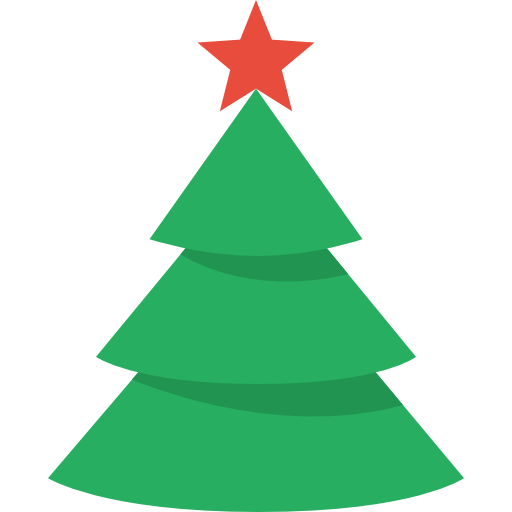 512x512 Collection Of Christmas Tree Clipart Vector High Quality