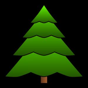 300x300 Simple Tree Clip Art