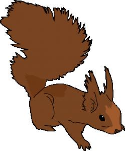 249x300 Evil Squirrel Clip Art Download
