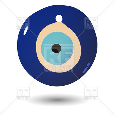 400x400 Nazar Amulet That Protect The Evil Eye Royalty Free Vector Clip
