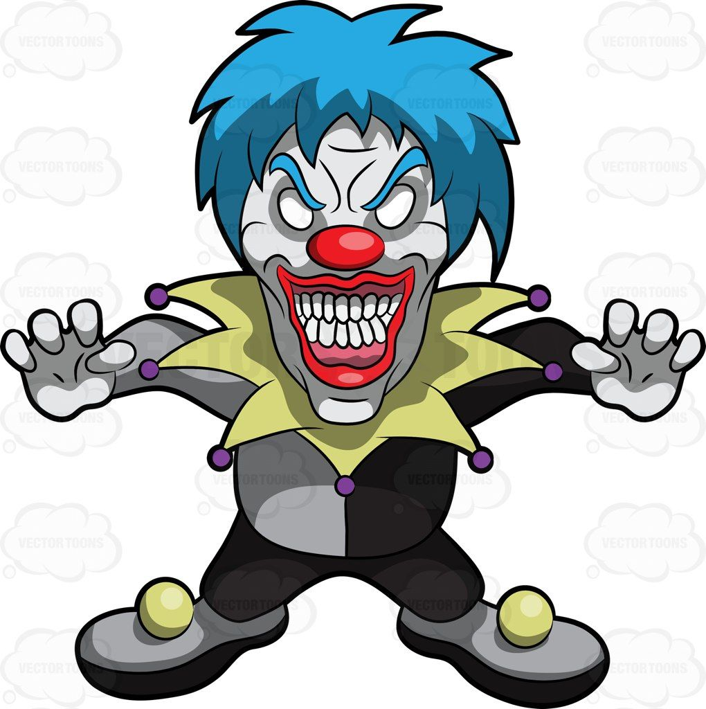1020x1024 A Very Frightening Clown