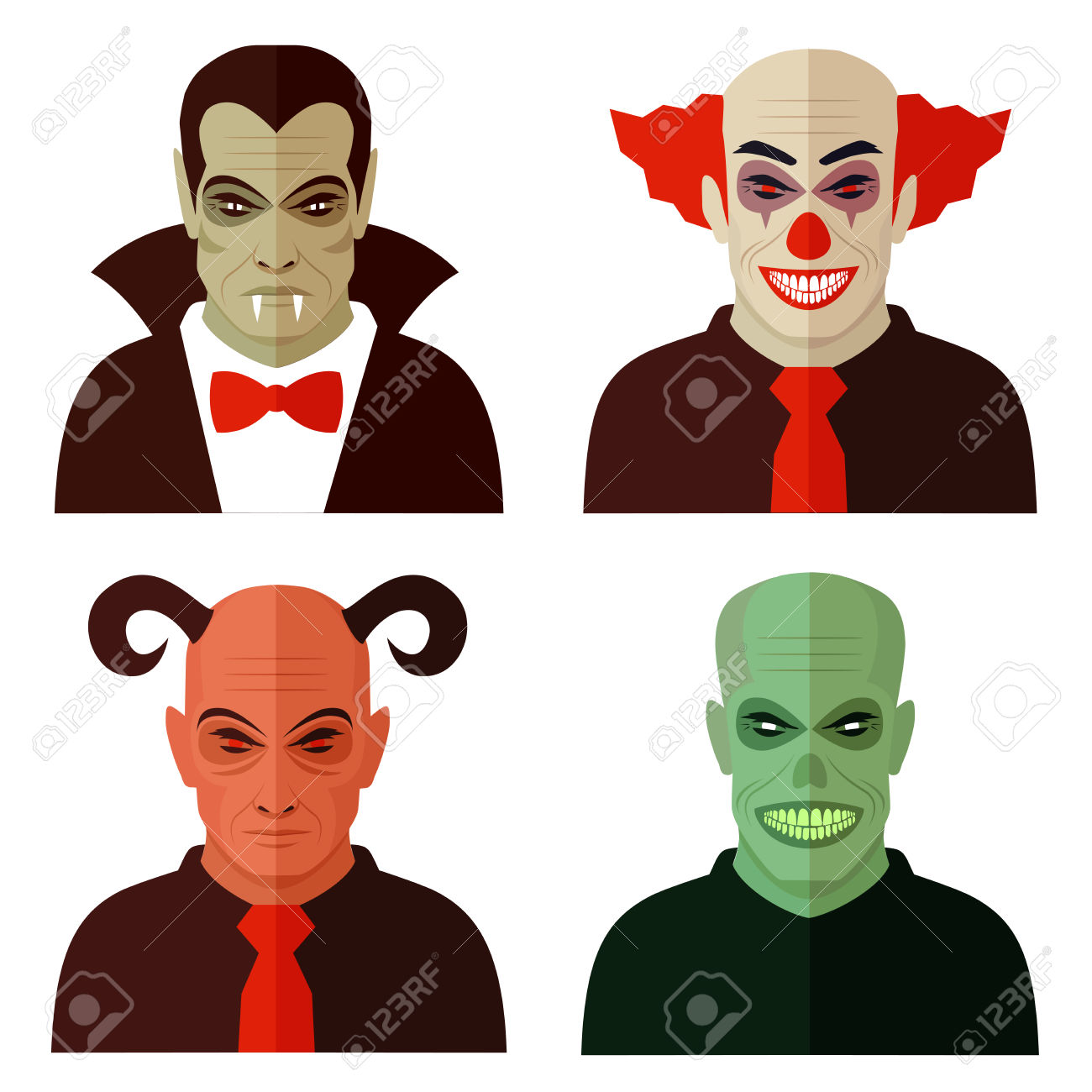 1300x1300 Collection Of Zombie Clown Clipart High Quality, Free